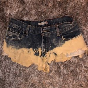 Cheeky coverup shorts